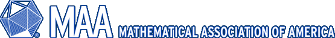 image link to MAA (Mathematical Association of America) main web site